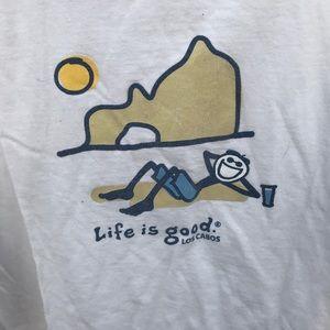 Life Is Good Tops - Life Is Good Classic Tee